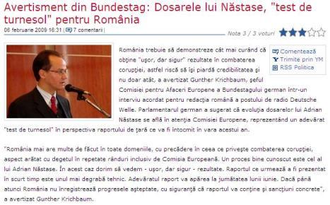 Bundestag Nastase